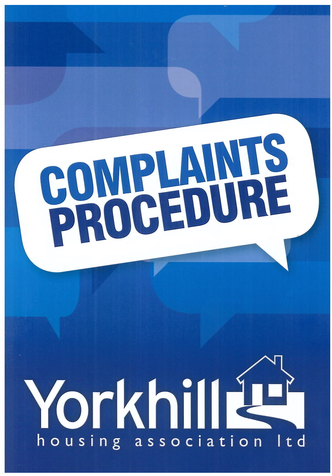 Complaints Booklet Photo